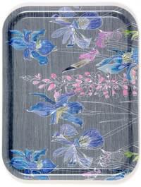 Siberian Iris Melamine Tray