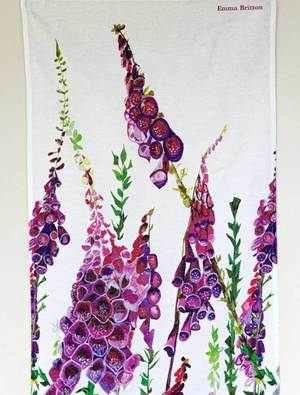 Foxglove Tea Towel