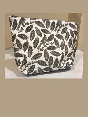 Songbird Grey Wash Bag