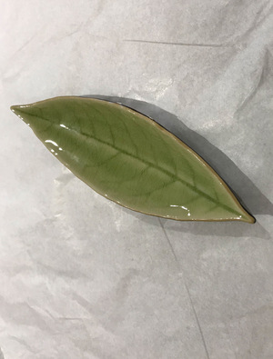 Ceramic Laurel Leaf