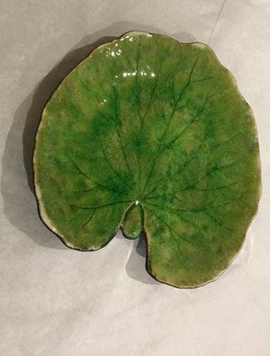 Ceramic Tomate-Alchemille Leaf