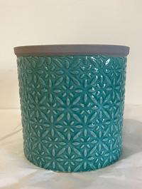 Small Tuscany Glazed Pot