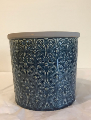 Large Blue Porto Pot