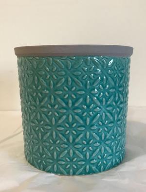 Large Tuscany Glazed Pot