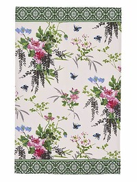 Madame Butterfly Tea Towel by Ulster Weavers