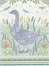 Woodland Goose Tea Towel by Ulster Weavers