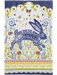 Woodland Hare Tea Towel by Ulster Weavers