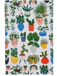 Pot Plant Tea Towel by Ulster Weavers