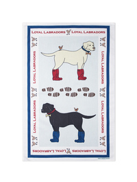 Emma Lawrence Labrador Tea Towel