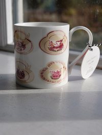 Tea Cup Mug by Laura Stoddart