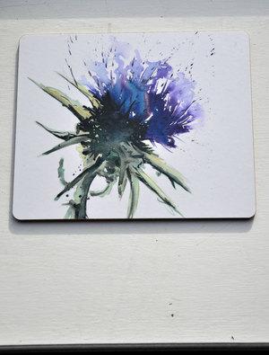 Artichoke Placemat by Meg Hawkins