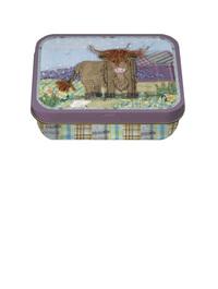 Highland Cow Mini Tin