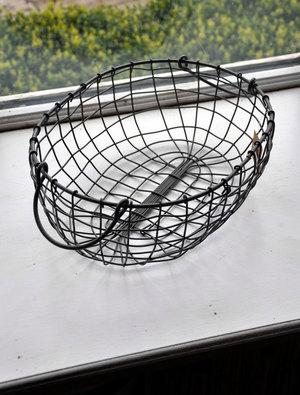 Oval Wire Basket - Medium