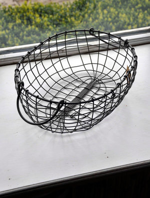 Oval Wire Basket - Small